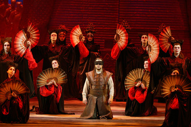"""Giacomo Puccini ""Turandot"" (lyric drama in three acts and five scenes)"""