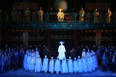 "Giacomo Puccini ""Turandot"" (lyric drama in three acts and five scenes)"