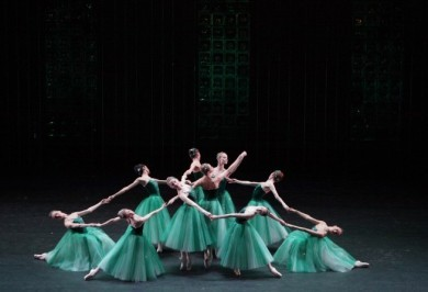 "George Balanchine ""Jewels"" (ballet in three parts)"